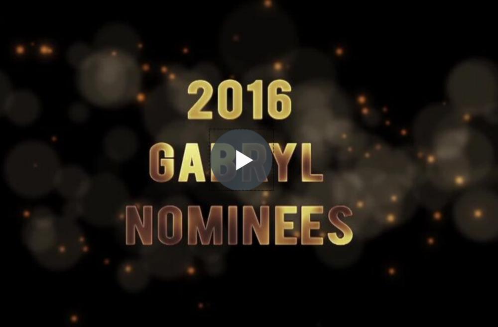 Gabryl Award video